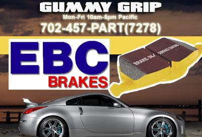 EBC F&R Yellow Brake Pads  08 Impreza  2.5 WRX Turbo