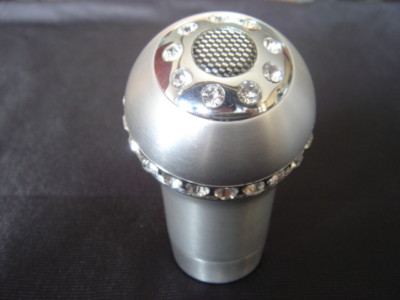 VIP CRYSTAL ALLOY MANUAL TRANSMISSION SHIFT GEAR KNOB