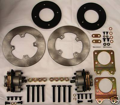 #327 Honda ATV Foreman 450 Disc Brake Conversion Kit