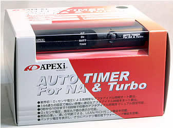 APEXI TURBO TIMER RED LED NA TURBO CAR