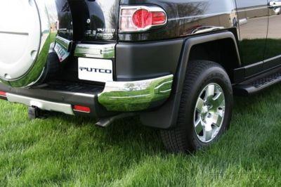 Rear Bumper Corners Chrome Trim Accessories
