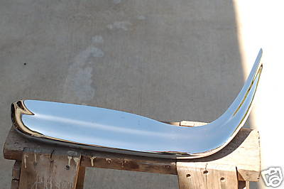 1964 MERCEDES 220 SEB LEFT FRONT UPPER BUMPER GUARD