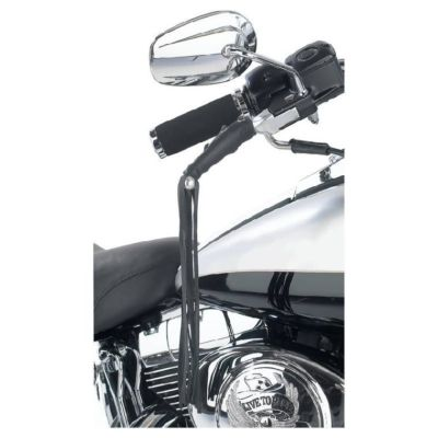 MOTORCYCLE Brake/Clutch/Lever LEATHER COVERS 12″ Fringe