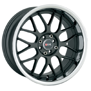 18″ XXR Wheels 006 Black Rims Camry Solara Civic Acura
