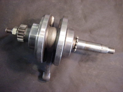 OLD HONDA XR 75 XR75 ENGINE CRANK CRANKSHAFT 1977 AHRMA