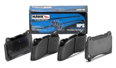 0209 SUBARU IMPREZA WRX Hawk HPS F&R Brake Pads