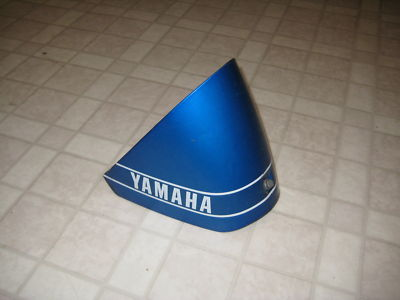 Front Engine Cover 1979 LB50 Yamaha Chappy rare blue