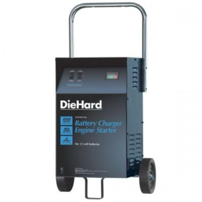 DieHard Wheeled Battery Charger Engine Starter 12v 200