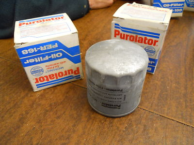 NOS Purolator Oil Filters (2) Audi Turbo Quattro to 80