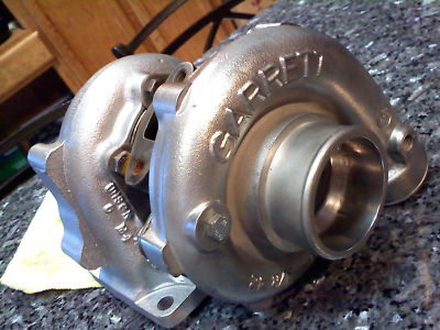 GART turbocharger T3 inlet 5 bolt out 45 trim turbo