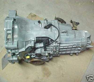Porsche Boxster 5 speed manual transmission transaxle