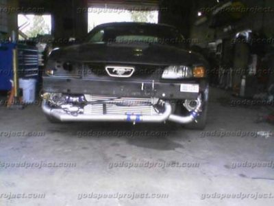 8993 9406 mustang v6 v8 t3t4 twin turbo kit FREESHIP