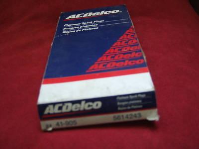 41905 DELCO PLATINUM SPARK PLUGS