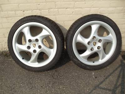 18″ PORSCHE WINTER TIRESWHEELS, PAIR, FRONT