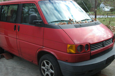 1993 VW Eurovan MV, Manual Transmission
