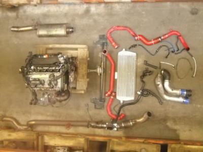 MK4 JETTA 1.8 TURBO KIT PULLEYS INTAKE EUROJET VW