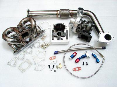88899091 crx ef b16 b18 equal length t3t4 turbo kit