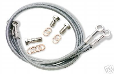 GALFER FRONT BRAKE LINE KIT DUCATI MONSTER 04 03 02 01