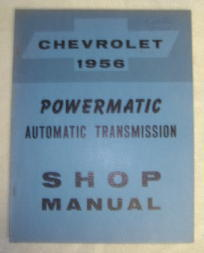 1956 Chevrolet Powermatic Automatic Transmission Manual