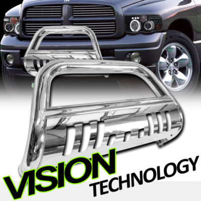 DODGE RAM CHROMEPLATED STAINLESS GRILL BULL GUARD BAR