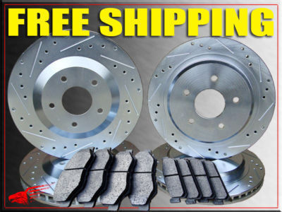 BUICK RAINIER 5.3L Engine 04 05 06 07 ROTORS  PADS F/R