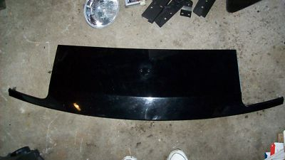 Porsche 944 Turbo S S2  Black Front Header Nose Panel