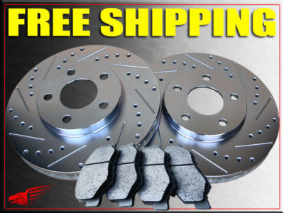 FORD BRONCO 85 86 87 88 89 90 91 92 93 ROTORS  PADS F