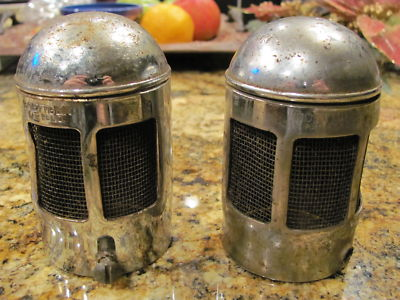 2 Rare Boettger Air Cleaners SCTA Rat Rod Flathead 1932