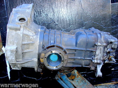 VW Volkswagen Vanagon Diesel transmission manual 4spd