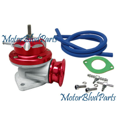 UNIVERSAL TYPE RS TURBO BLOW VALVE RED MAZDA MITSUBISHI