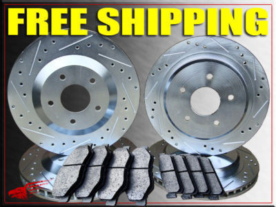 PORSCHE 944 TURBO 86 BRAKE ROTORS  PADS F/R