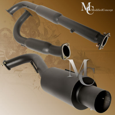95 96 97 98 99 ECLIPSE N/TURBO RS GS BK CATBACK EXHAUST