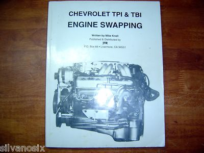JTR Chevy TPI Tuned Port Injection Engine Swap  Manual