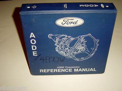Ford Mercury AODE 4R70W Factory Transmission  Manual