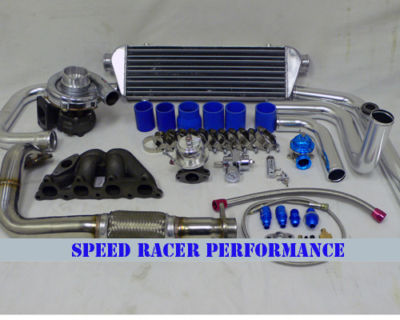 Complete Turbo Kit Honda D D15 D16 9200 Civic 250hp