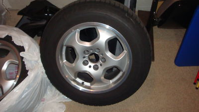 BMW 17 inch wheels and winter tires