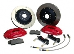 StopTech Brake Kit Front Slotted Rotor Impreza 0809