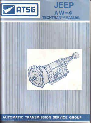 ATSG JEEP AW4 AUTOMATIC TRANSMISSION SERVICE MANUAL