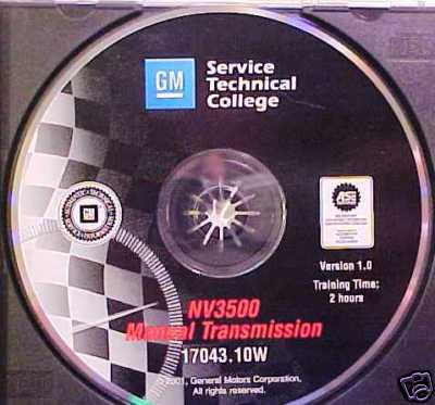 NV 3500 Manual Transmission  GM CD Training