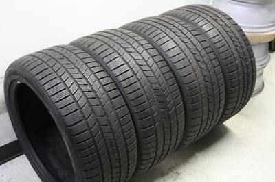 4 Pirelli Snow 275/40/20 Winter Tires Cayenne S Turbo