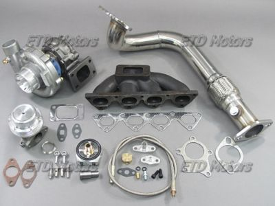 96 97 Civic EK B GSR Turbo kit Keeps AC PS Bolt on fit