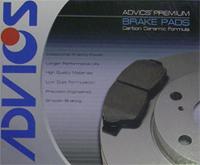 Advics AD0500 Front Brake Pads