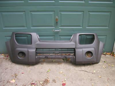 2005 Honda Element OEM Front Bumper Cover, grey texture
