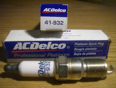 41932 ACDelco Professional Platinum Spark Plug.