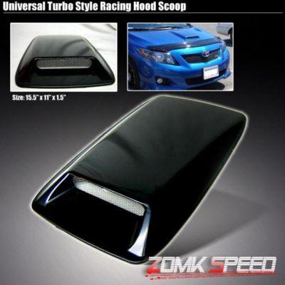Universal JDM FC Style Air Flow Vent Turbo Hood Scoop 7