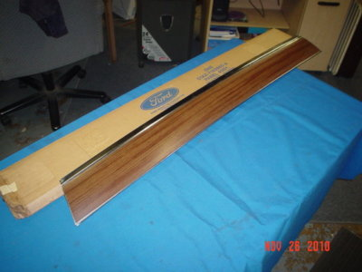 1971/UP Ford panel roof air deflector NOS