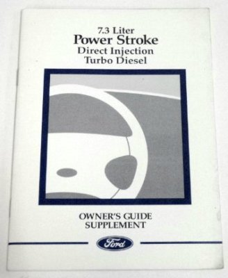 Ford 1988 Turbo Diesel Truck Engine Manual Suppl.