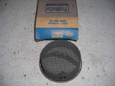 NOS FORD 1949  1959 ENGINE OIL PUMP SCREEN 215  312