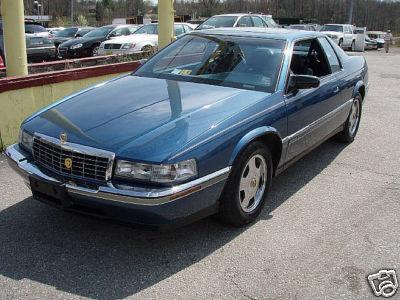 92 93 94 cadillac eldorado bumper corner chrome trim