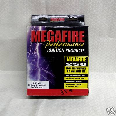 BBC HEI 8.5 mm MegaFire Race Spark Plug Wires